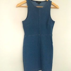 Forever 21 denim mini dress